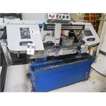 """Eisen UE-916A 9"""" Horizontal Band Saw s/n 09014103 w/ 4-Speeds, Manual Clamping, Coolant"""