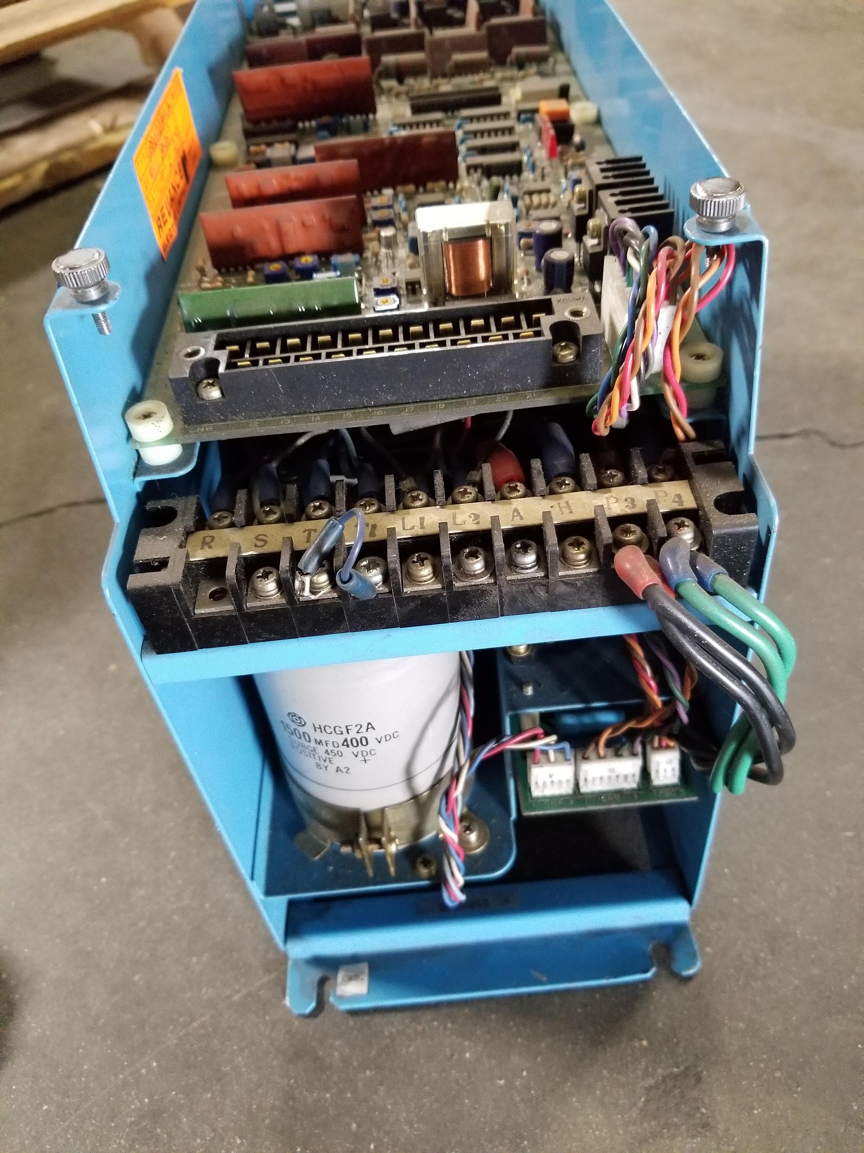 Lot 49A - RELIANCE ELECTRIC AC SERVO DRIVE