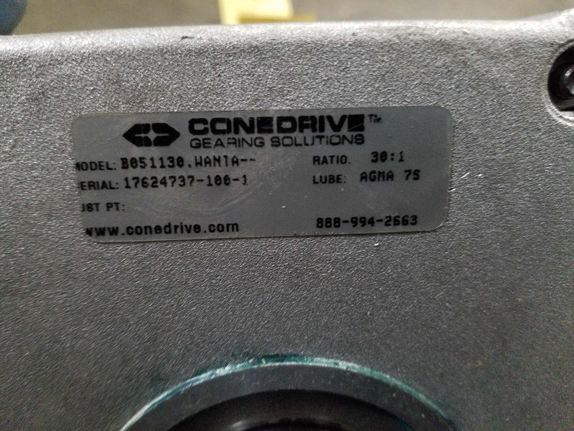 Lot 45 - UNUSED CONEDRIVE RIGHT ANGLE SPEED REDUCER