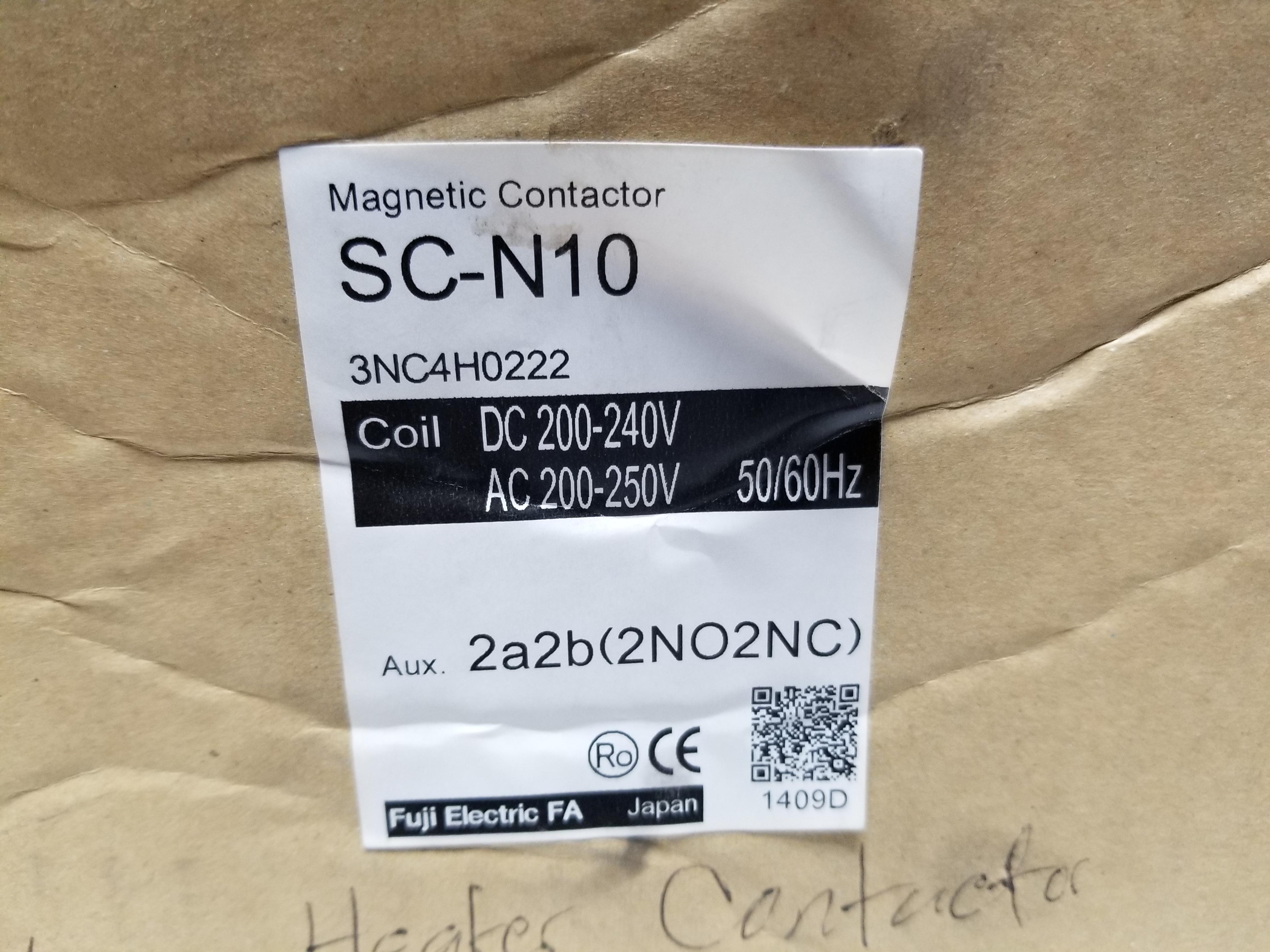 Lot 9 - NEW FUJI MAGNETIC CONTACTOR
