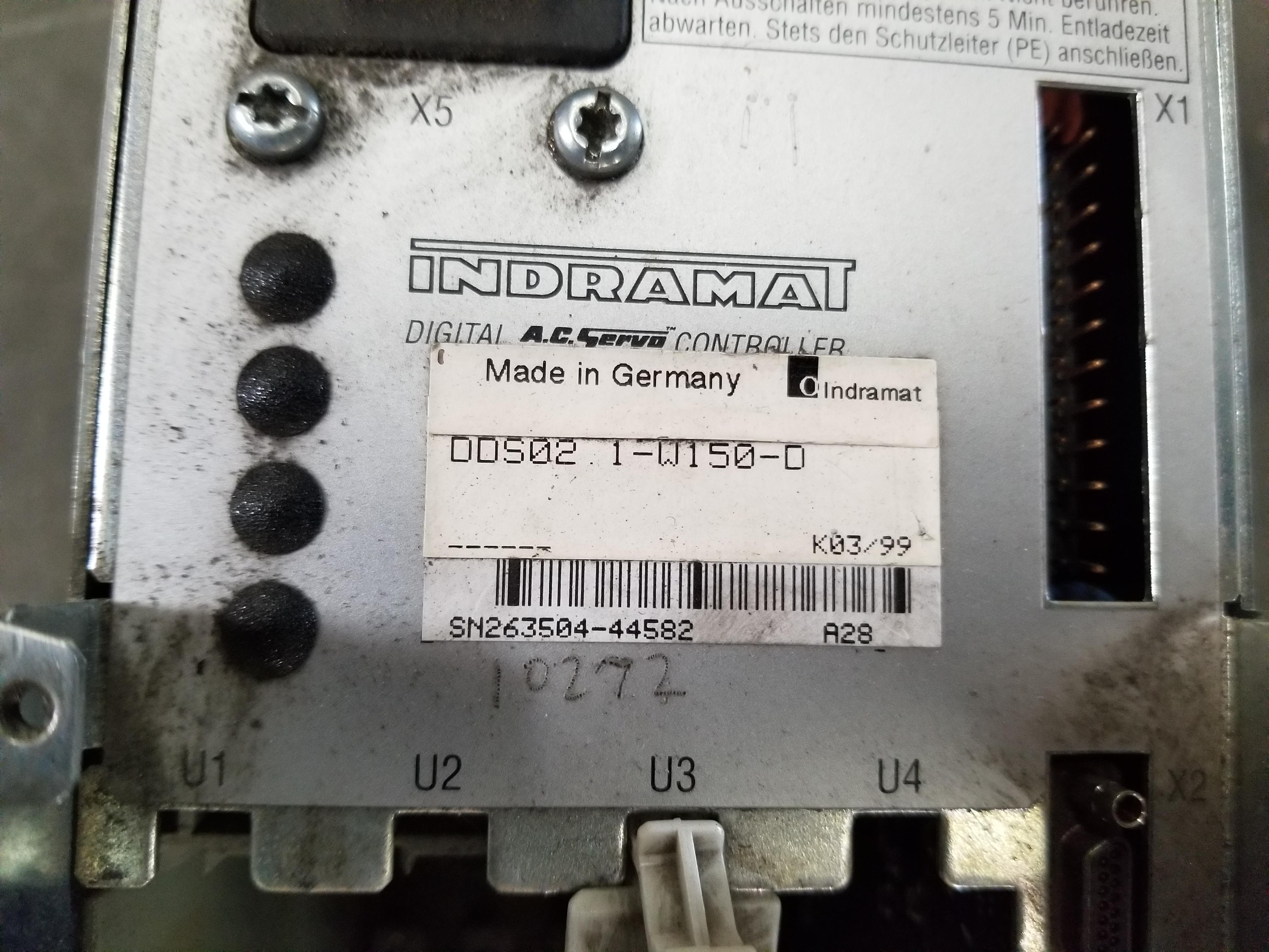 Lot 54 - INDRAMAT DIGITAL AC SERVO CONTROLLER