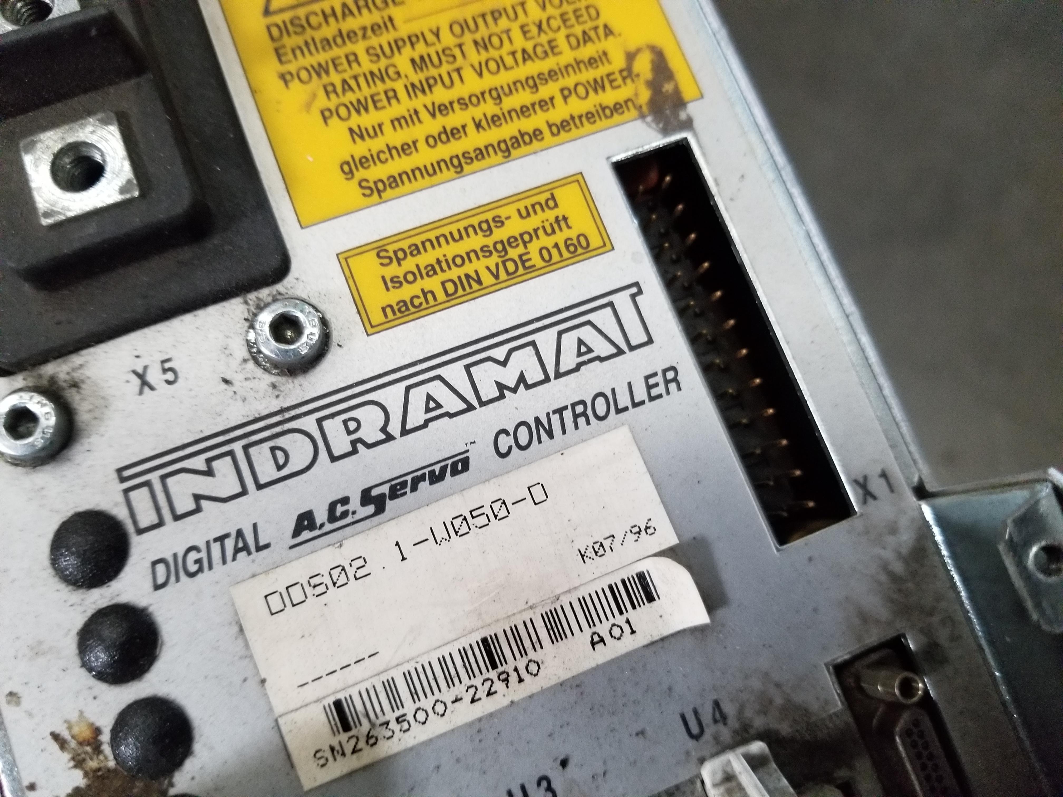 Lot 55 - INDRAMAT DIGITAL AC SERVO CONTROLLER
