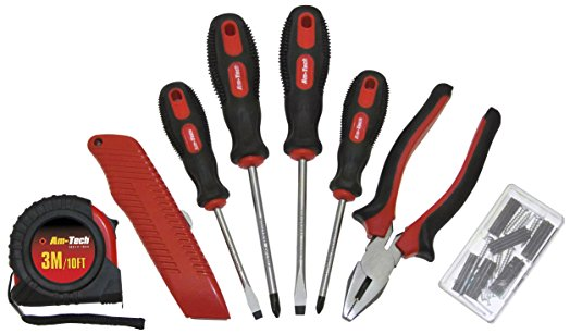 Lot 10322 - V Brand New Forty Three Piece Household Tool Set Inc Pliers, Screwdrivers Etc