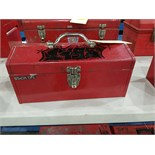 Red Toolbox w/ Tools