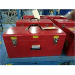 Proto Red Toolbox with Tools & Parts