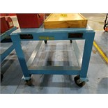 """31""""X60""""X31""""H 4000# Rolling Table"""