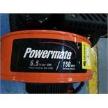 Powermate 6.5, 150mph maximum velocity walk behind Blower