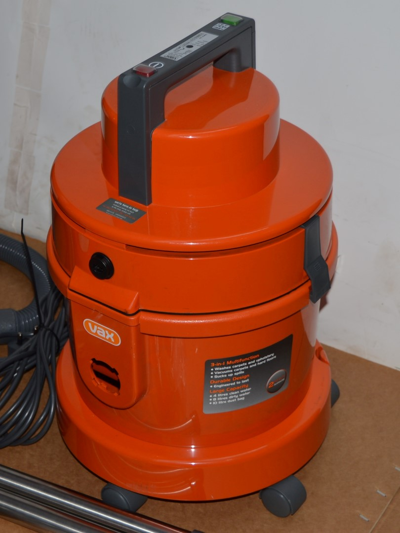 vax wet and dry vacuum cleaner instructions