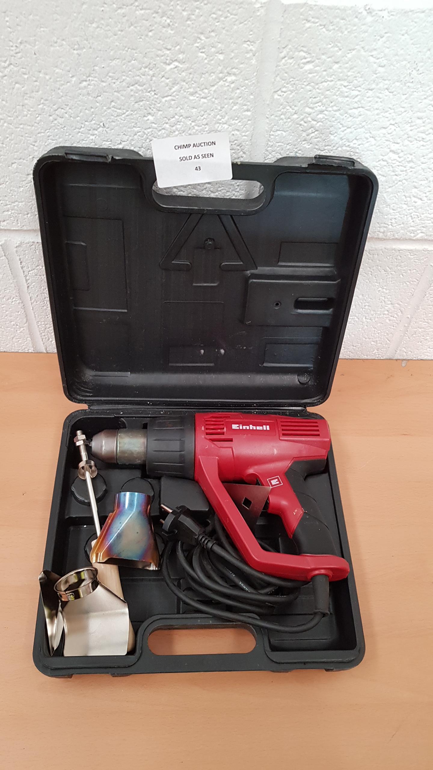Lot 43 - Einhell Heat Gun