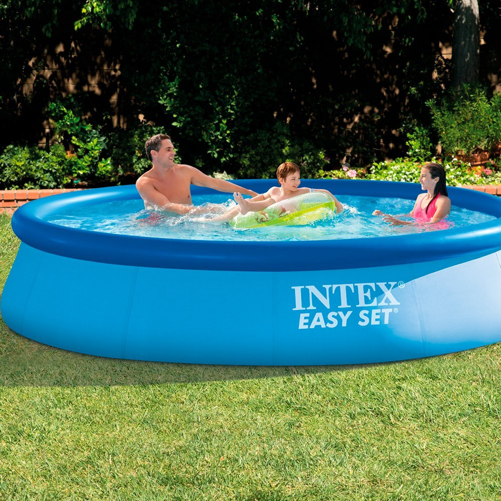 Lot 23 - Intex Easy Set 12ft x 30in Pool with Filter Pump (Blue) RRP £129.99