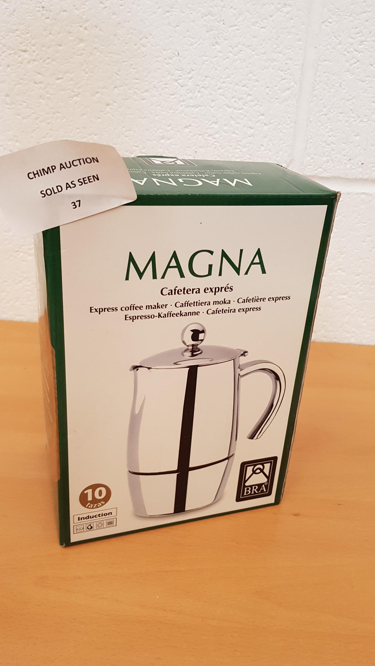 Lot 37 - BRA Magna Express Coffee Maker