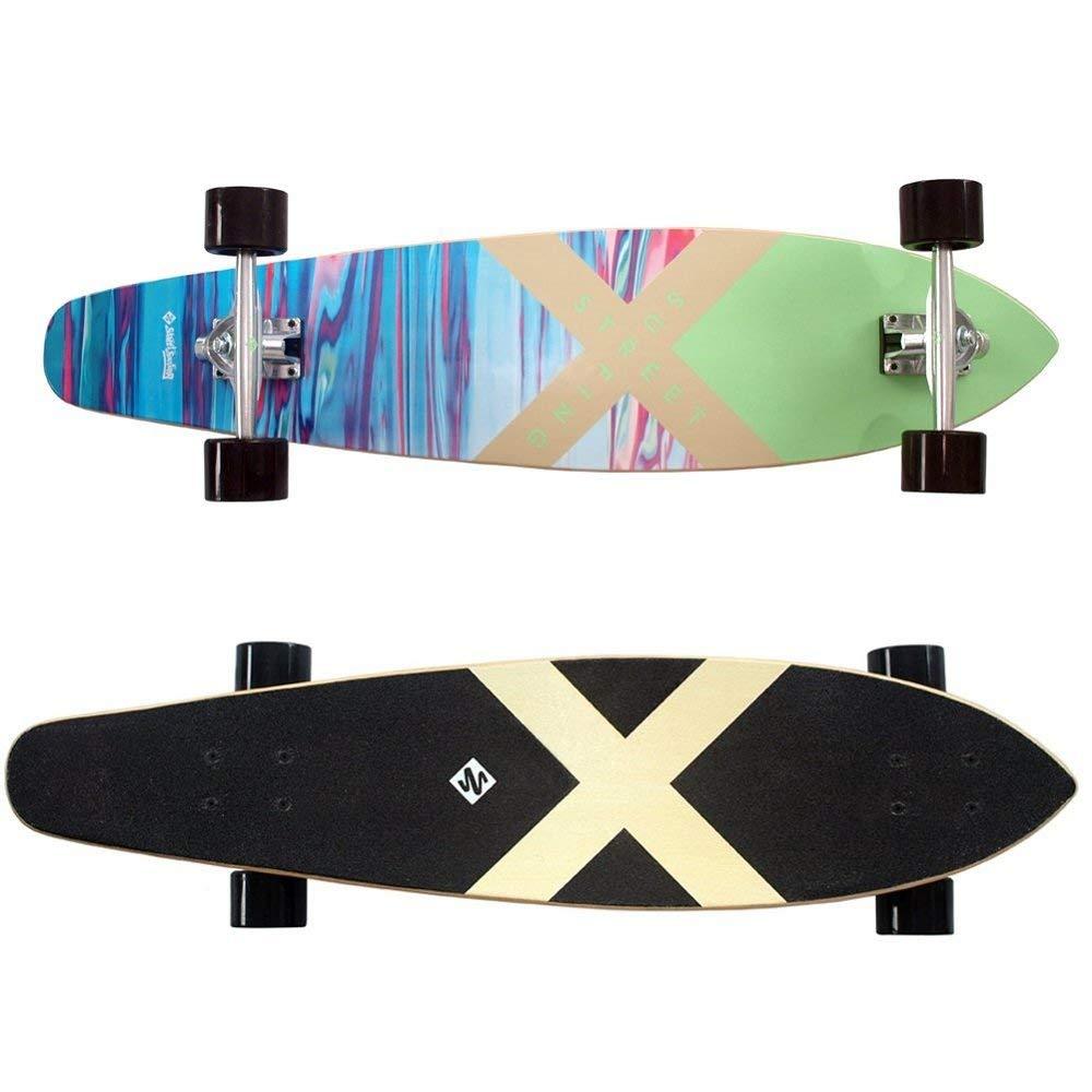 Lot 58 - Streetsurfing Longboard Kicktail 36 RRP £109.99