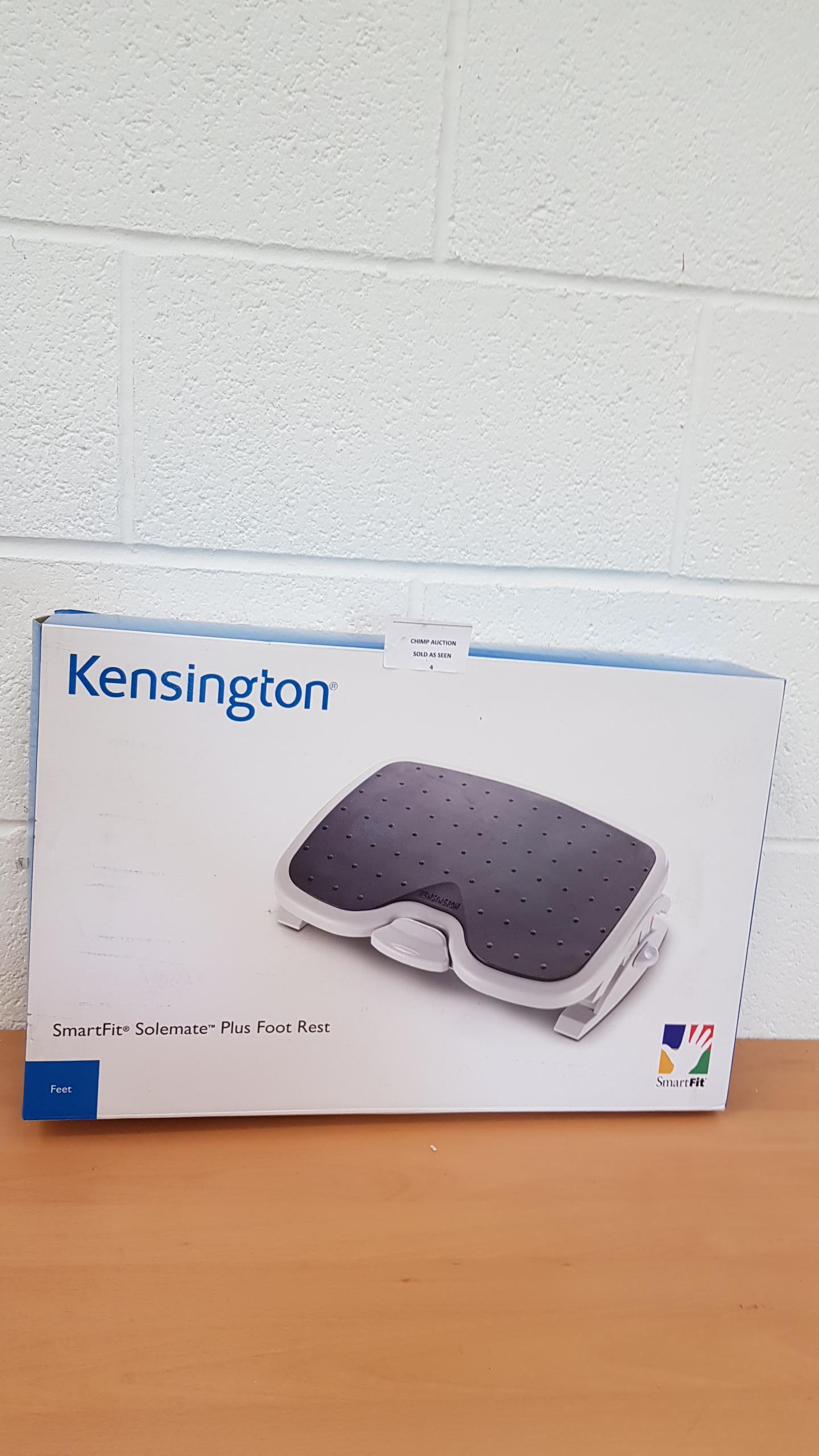 Lot 4 - Kensington SmartFit Solemate Plus Foot rest