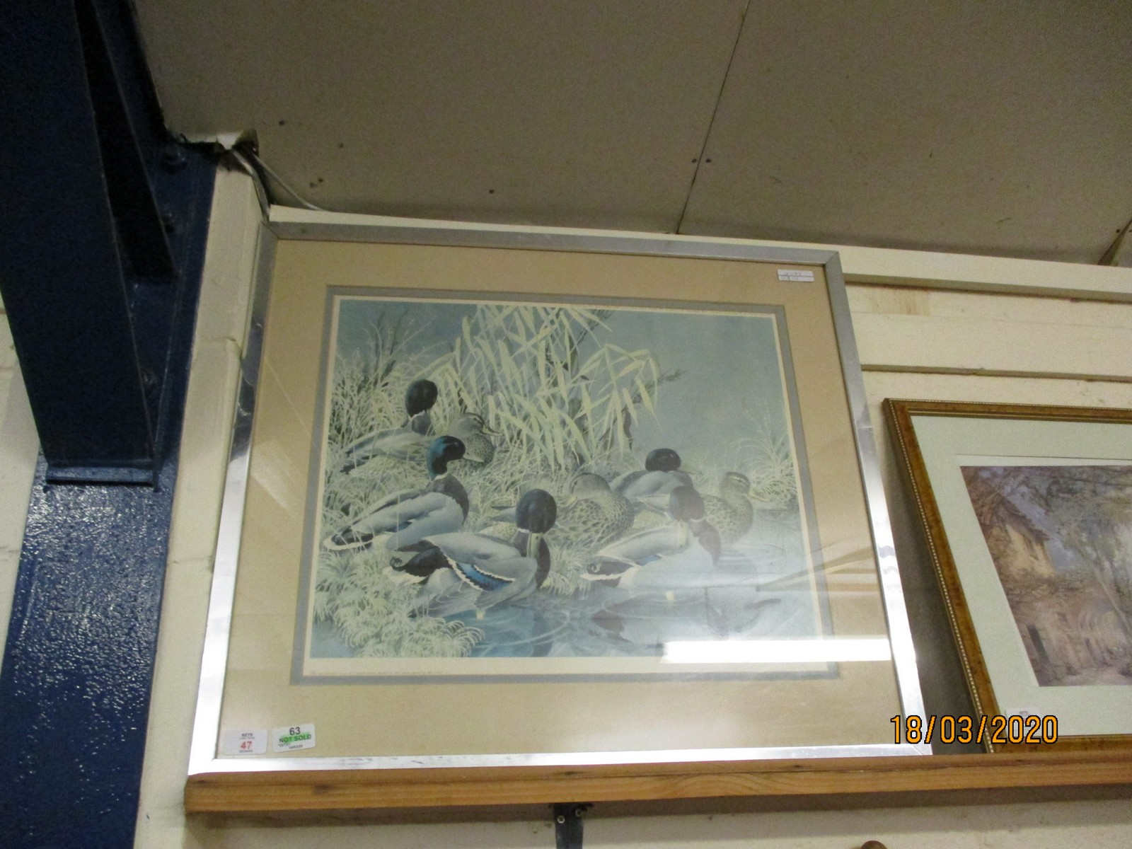 Lot 47 - LIMITED EDITION PRINT SIGNED IN PENCIL BY THE ARTIST DEPICTING WATERFOWL