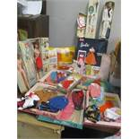 An early 1960s Mattel Barbie, Midge and Ken doll in original boxes A/F, together with a