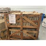 PIECES - INDIAN NATURAL STONE - MINT - ASSORTED SIZES - 48 PIECES PER CRATE (3 CRATES)
