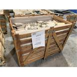 CRATE - INDIAN NATURAL STONE - SANDSTONE - ASSORTED SIZES (1 CRATE)