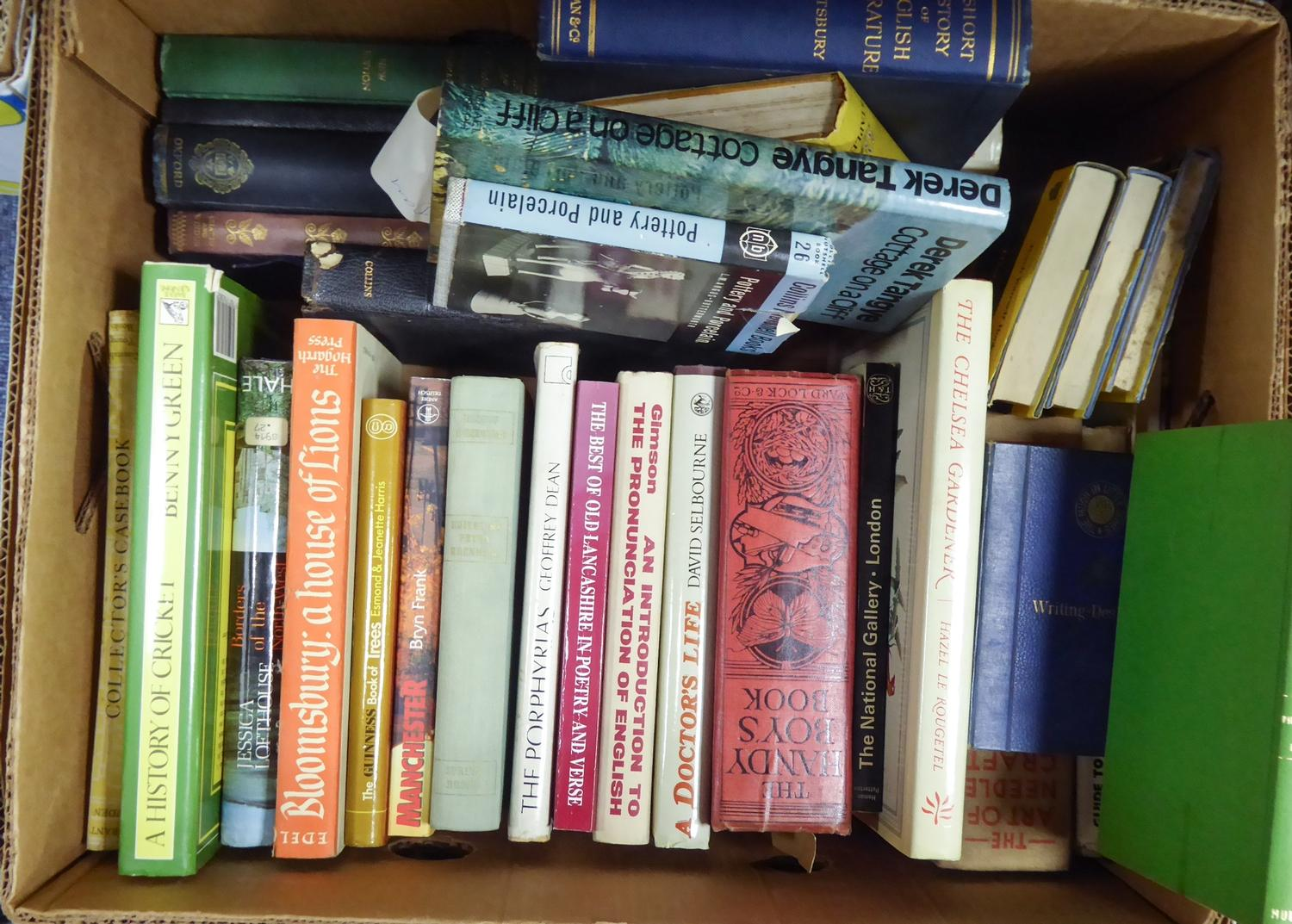 Lot 6 - VARIOUS AUTHORS - a broad range of non fiction titles covering a variety of toppics:- sports,