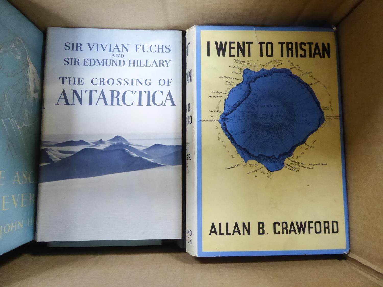 Lot 27 - TRAVEL/EXPLORATION - Allan B Crawford, I Went to Tristan, publised Hodder & Staughton 1941, 1st