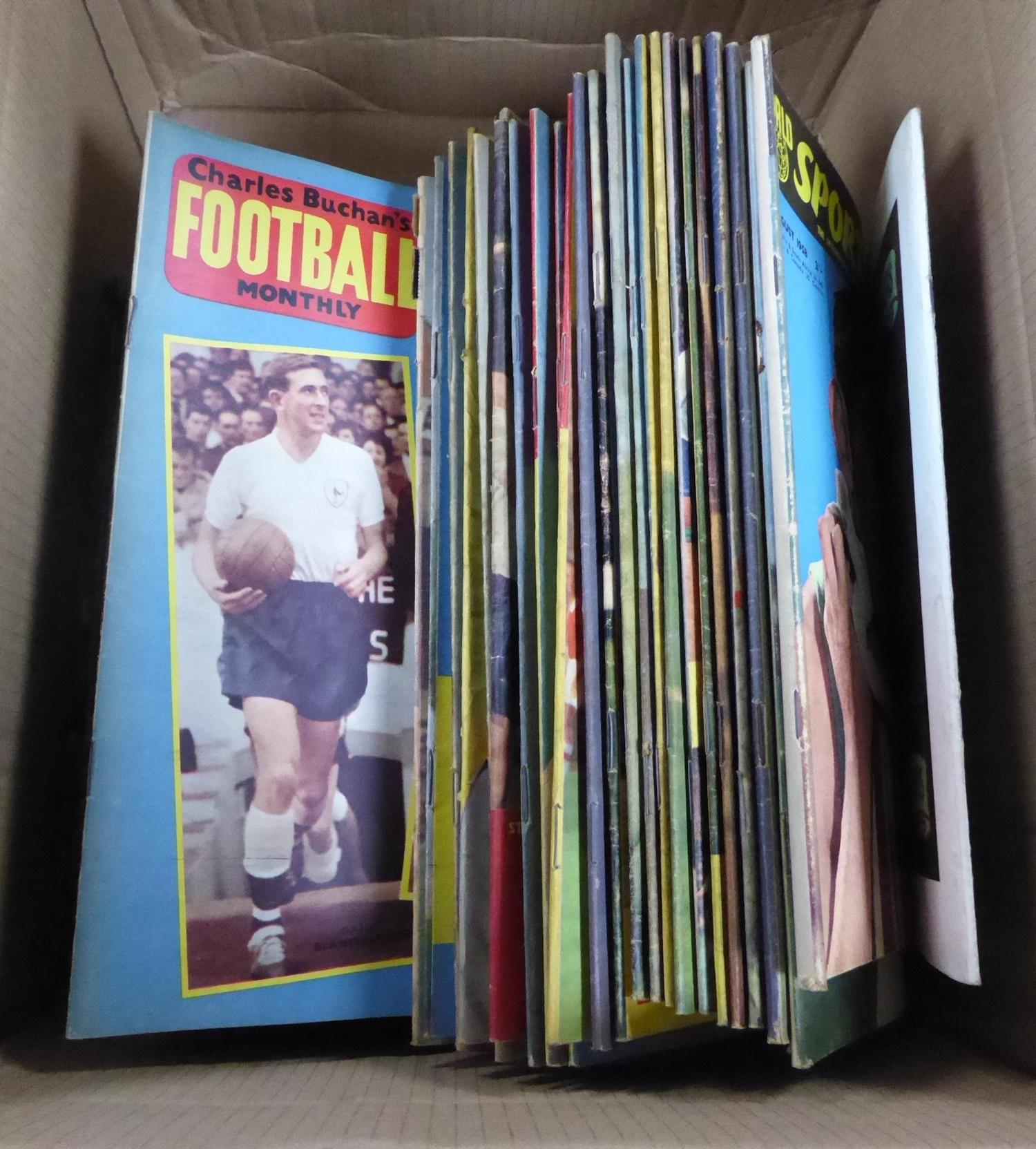 Lot 162 - FOOTBALL INTEREST, A SELECTION OF CHARLES BUCHAN FOOTBALL MONTHLY MAGAZINES, approximately 60