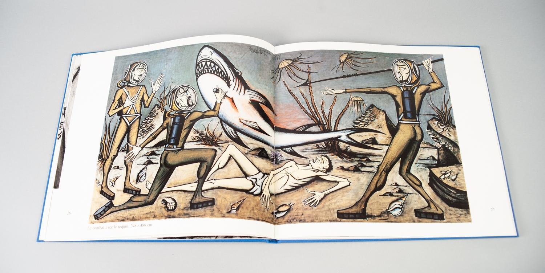Lot 15 - BERNARD BUFFET, VINGT-MILLE LIEVES SOUS LES MERS (Twenty Thousand Leagues Under the Sea), publised