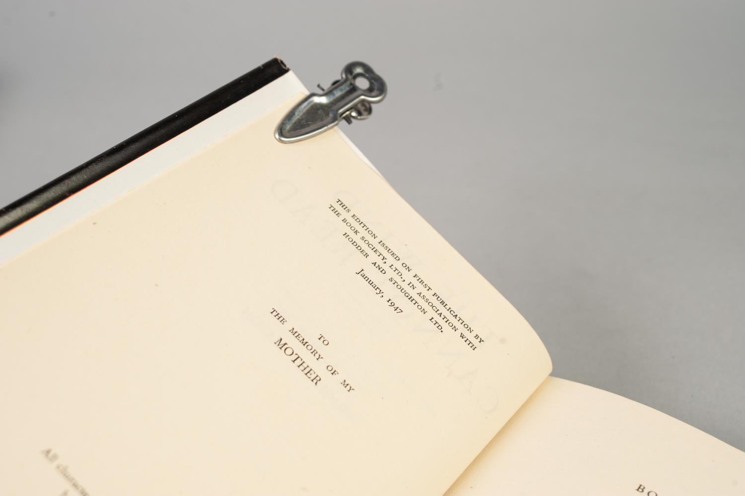 Lot 57 - SIGNED TITLES: RICHARD MASON, The Wind Cannot Read, 1947, with dust jacket; E C LARGE, Sugar in