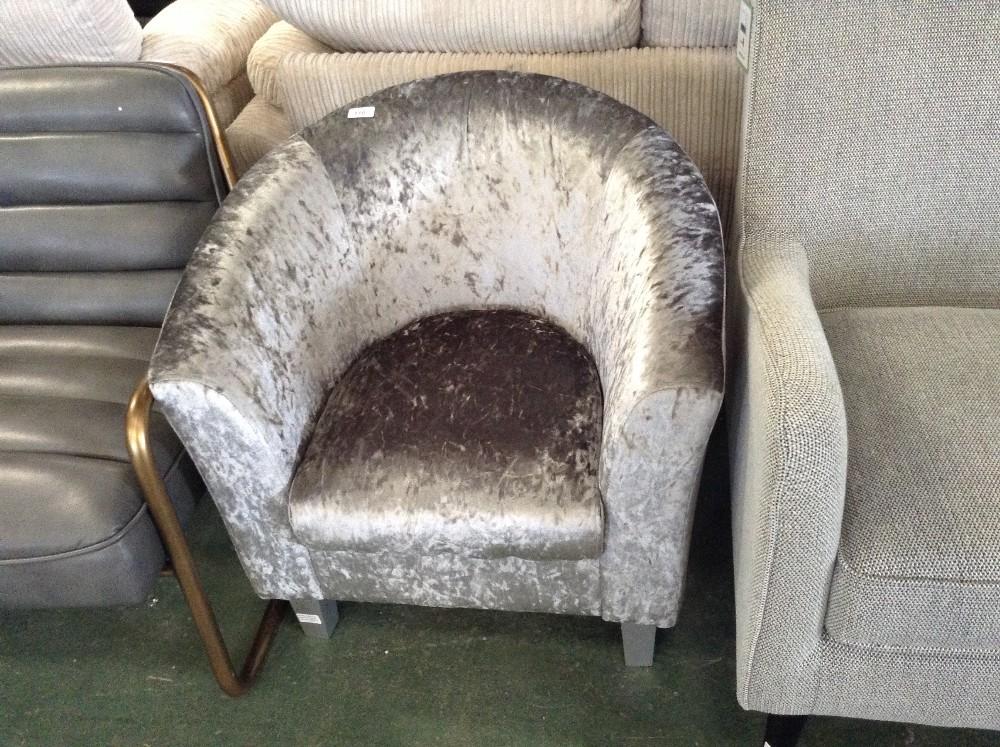 Lot 110 - Marlow Home Co. Palmerton Tub Chair (EBPE1118 - 12022/5)