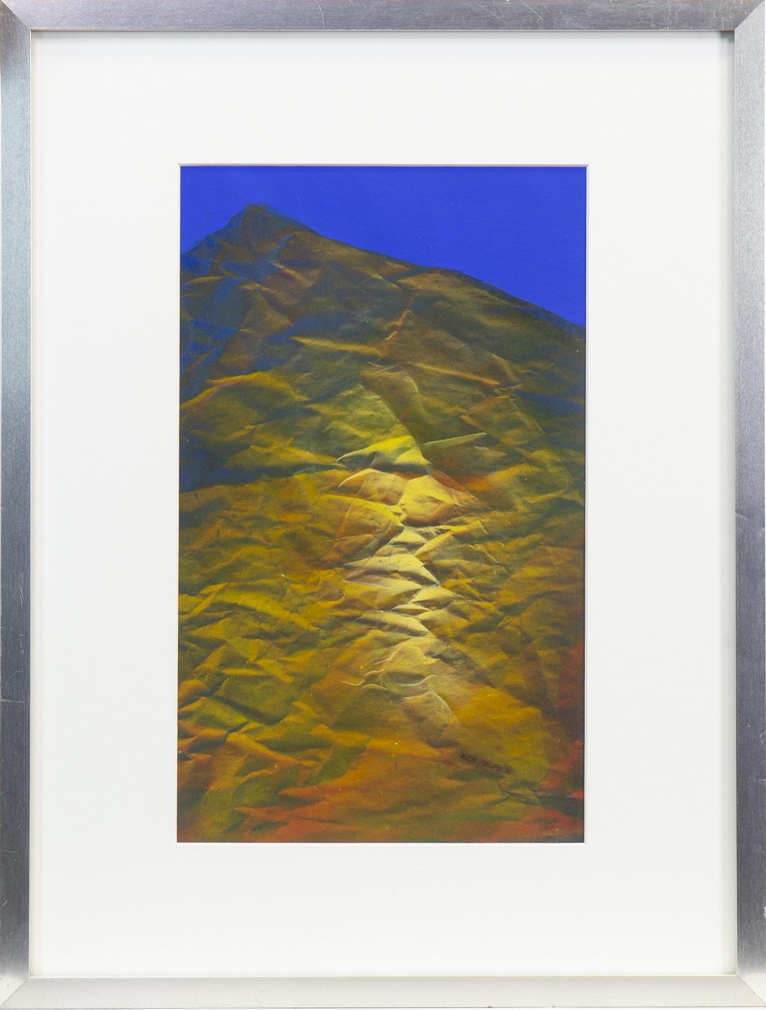 Lot 667 - BLUE, A MIXED MEDIA BY KEN PALMER