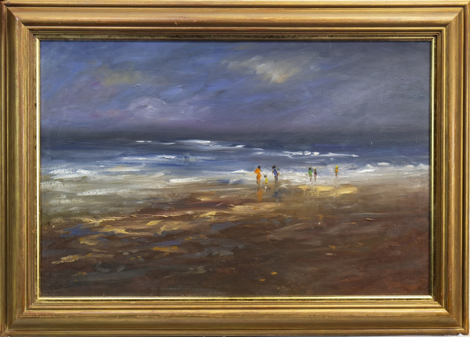 Lot 688 - SUMMER IN GALLOWAY, AN OIL BY ADRIENNE PERFECT