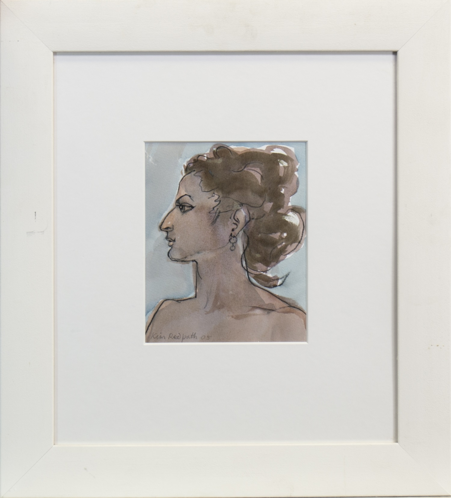 Lot 686 - PROFILE, A MIXED MEDIA BY KIM REDPATH