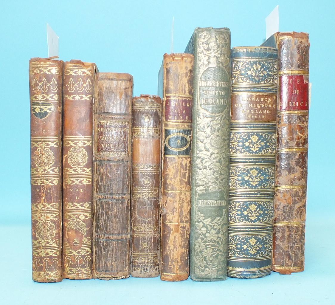 Robertson (Joseph, transl.), The Adventures of Telemachus, the Son of Ulysses, 2 vols, fldg map,