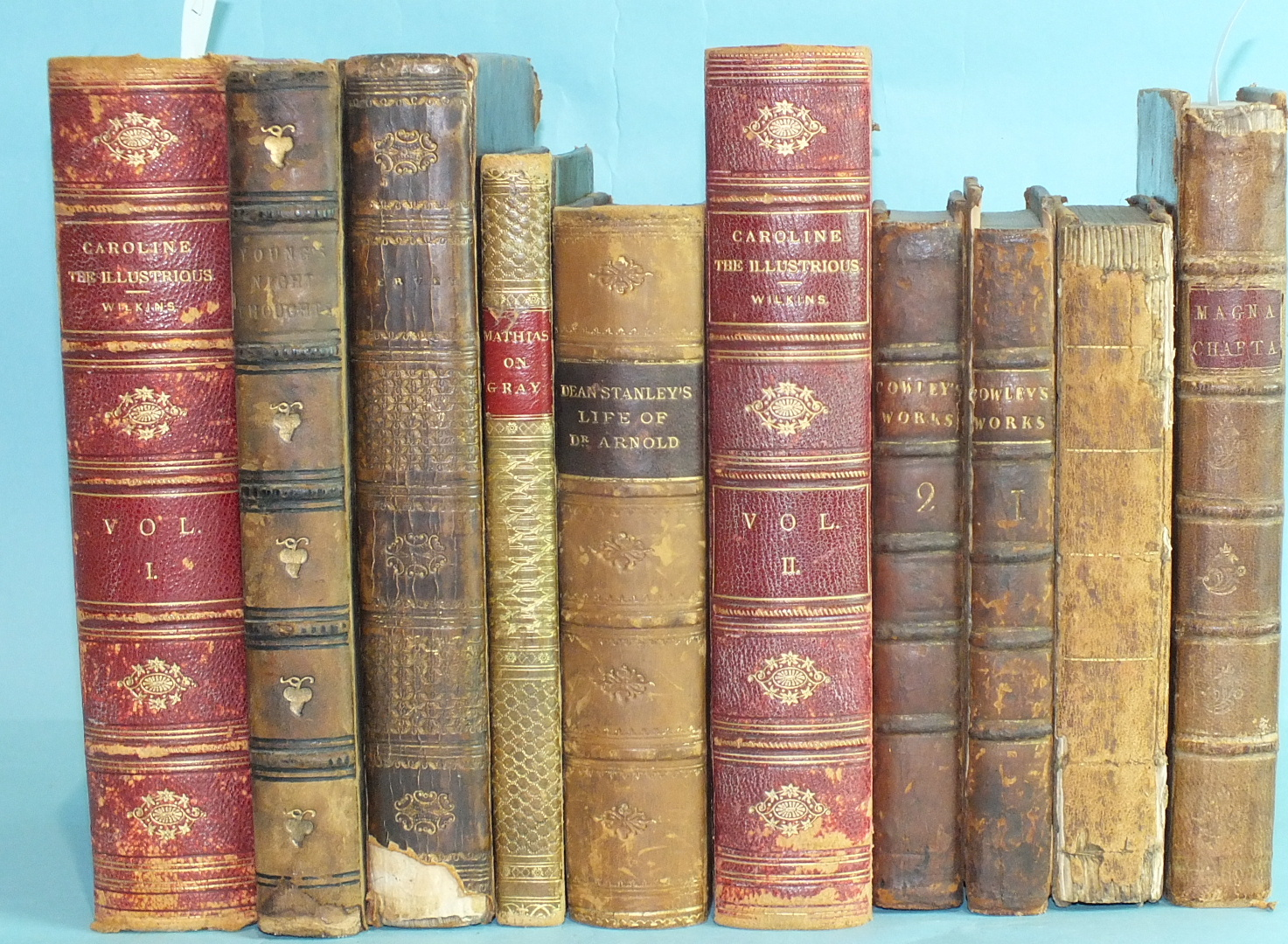 Lot 20 - Johnson (Samuel), A History and Defence of Magna Charta, 2nd Edn, cf gt, 8vo, 1772 and other