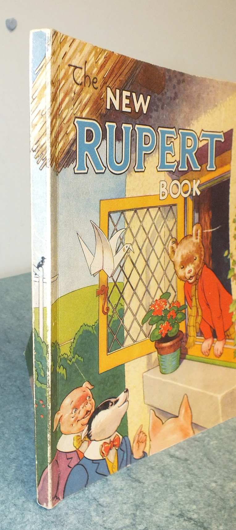 Lot 12 - The New Rupert Book, Daily Express Publication, 1946, ownership inscription, not price-clipped but