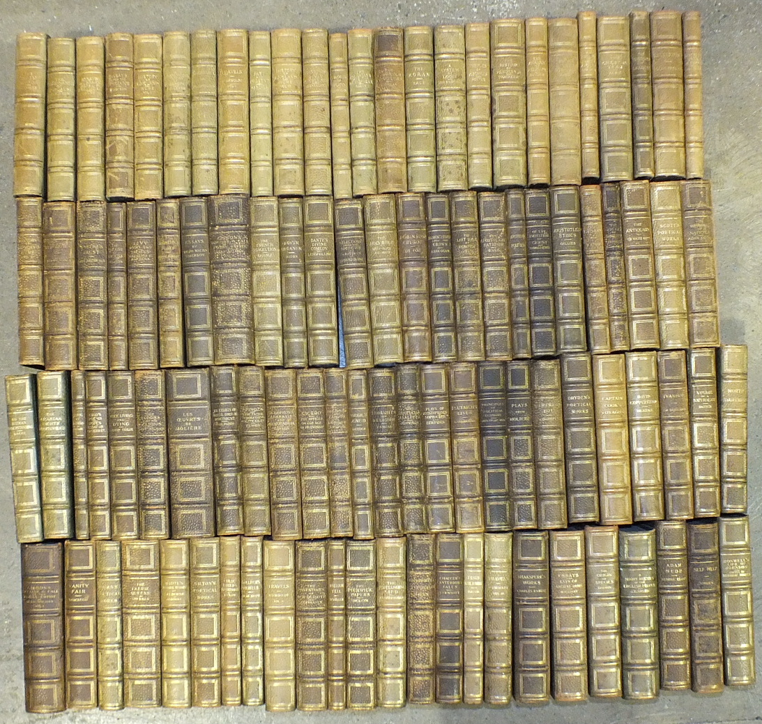 Lot 1 - Lubbock (Sir John), Sir John Lubbock's Hundred Books, 93 volumes, ge, green cf gt, 8vo, George