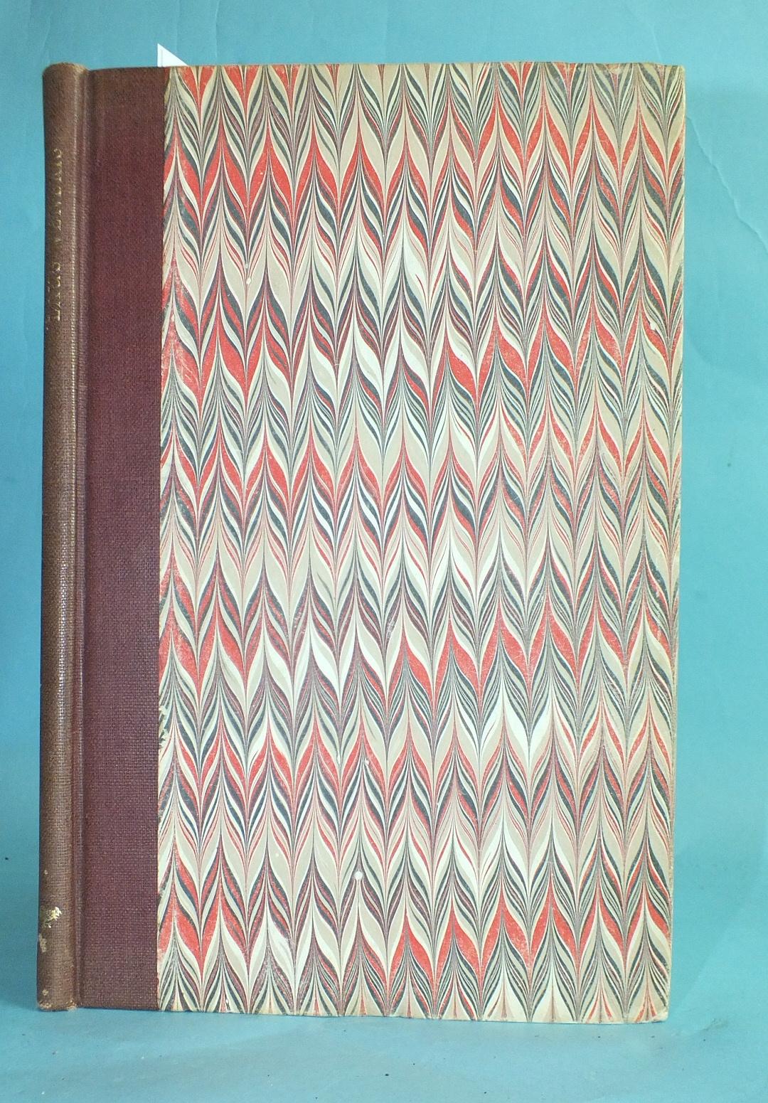 Golden Cockerel Press, Swinburne (Algernon Charles), Laus Veneris, wood engr tp and illus by John