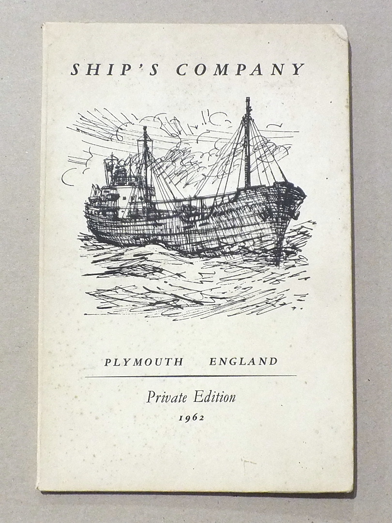 Lot 41 - De Hartog, (Jan), Ship's Company, ltd edn of 160, privately-printed for Captain and Mrs A S Oko,