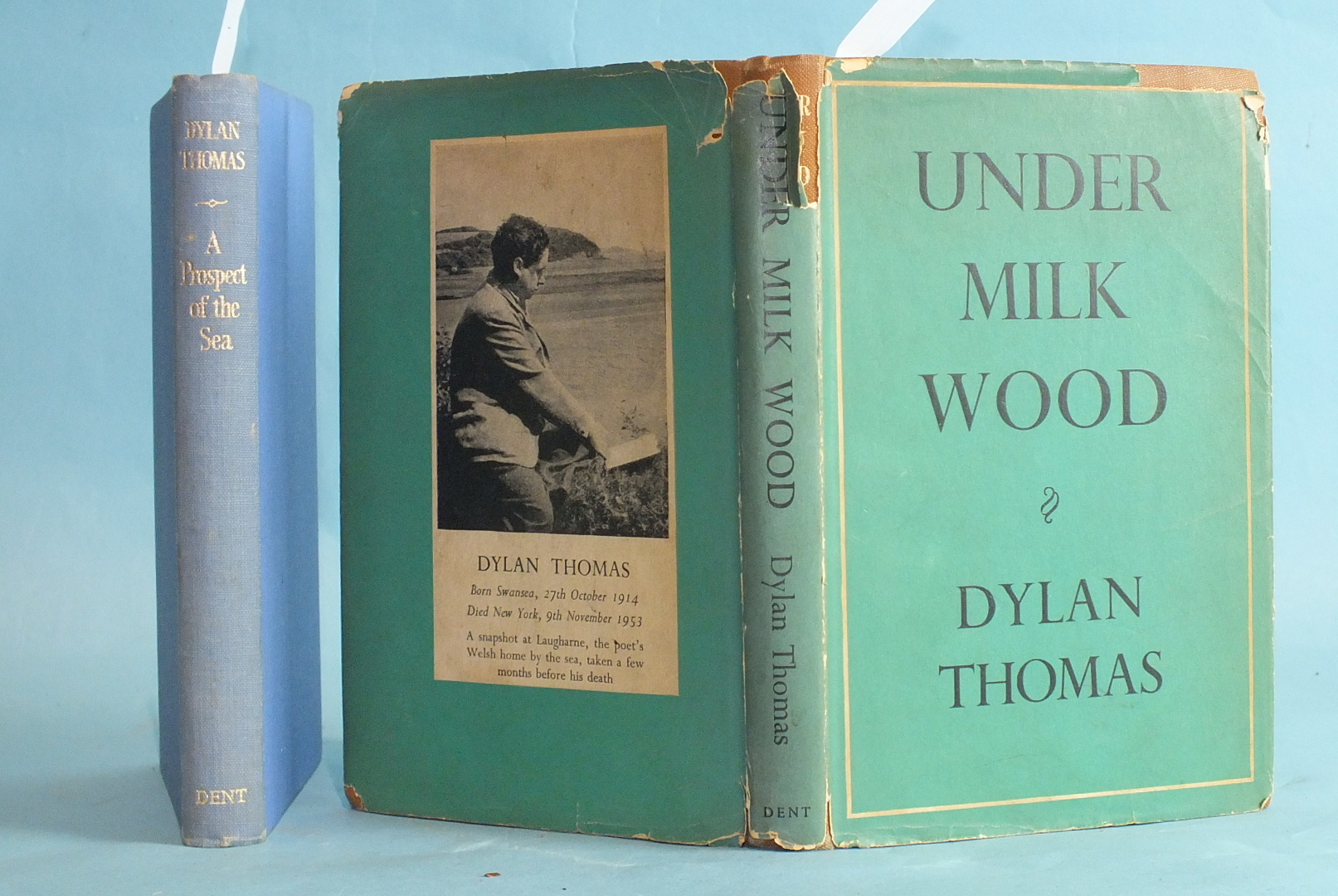 Thomas (Dylan), Under Milk Wood, 1st Edn, dwrp, (slightly torn, some loss), cl gt, 8vo, Dent 1954; A