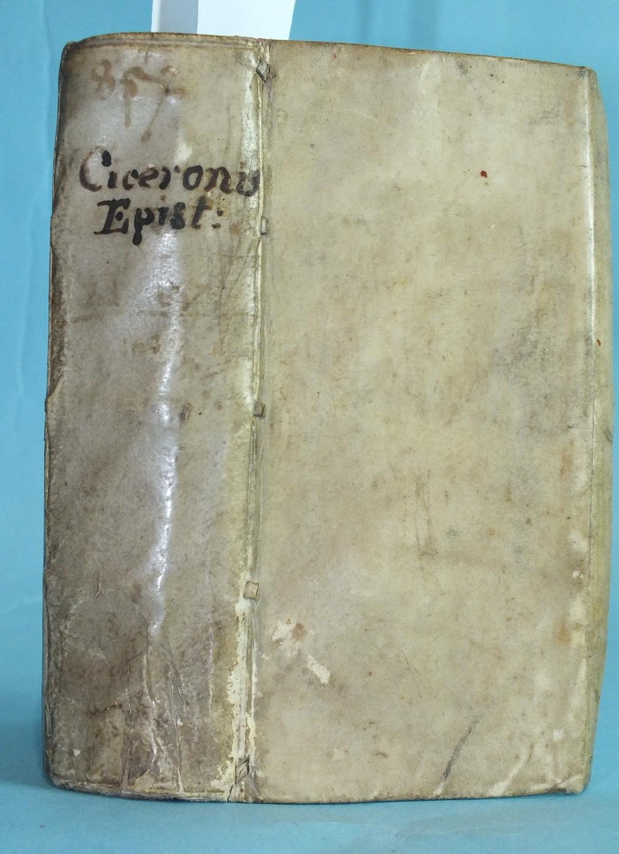 Lot 17 - Cicero (Marcus Tullus), M Tullii Ciceronis Epistolae Ad Atticum Brutum et Quintum Fratrem, with