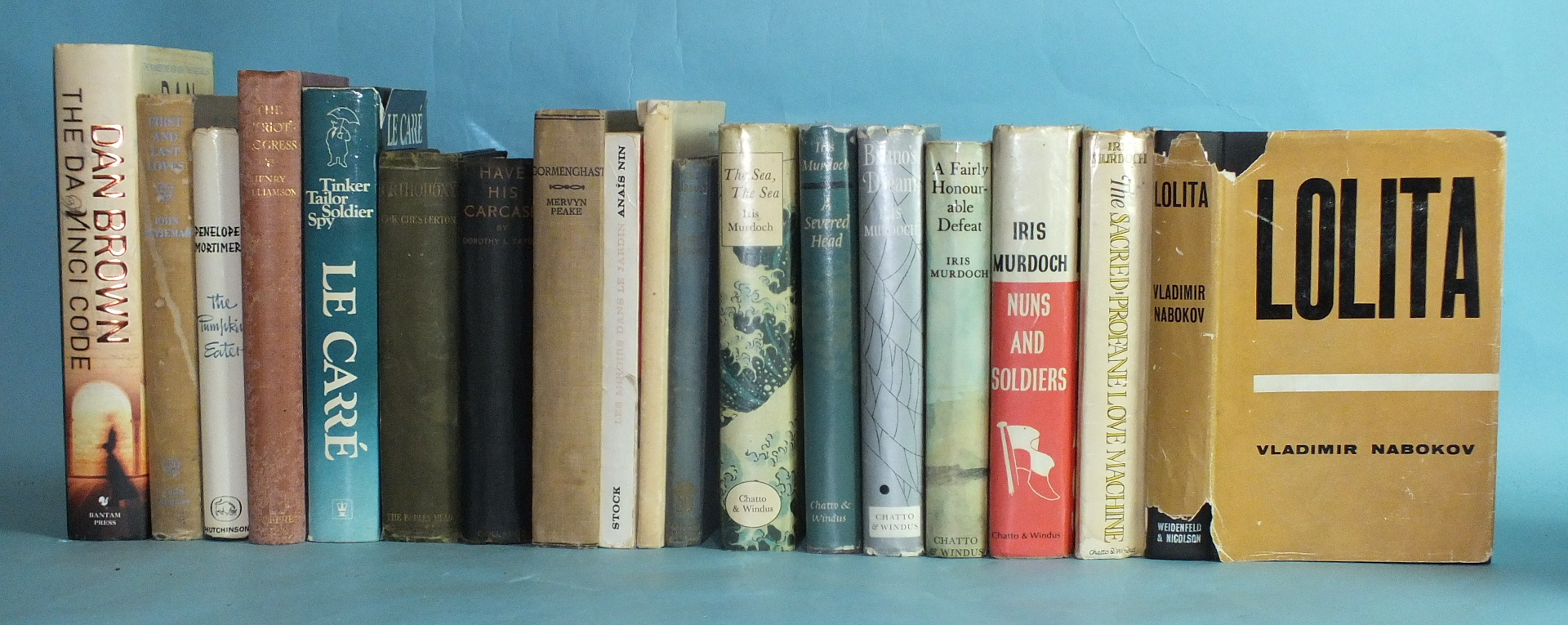 A collection of mainly modern First Editions, including: Iris Murdoch, A Severed Head, 1961; Bruno's