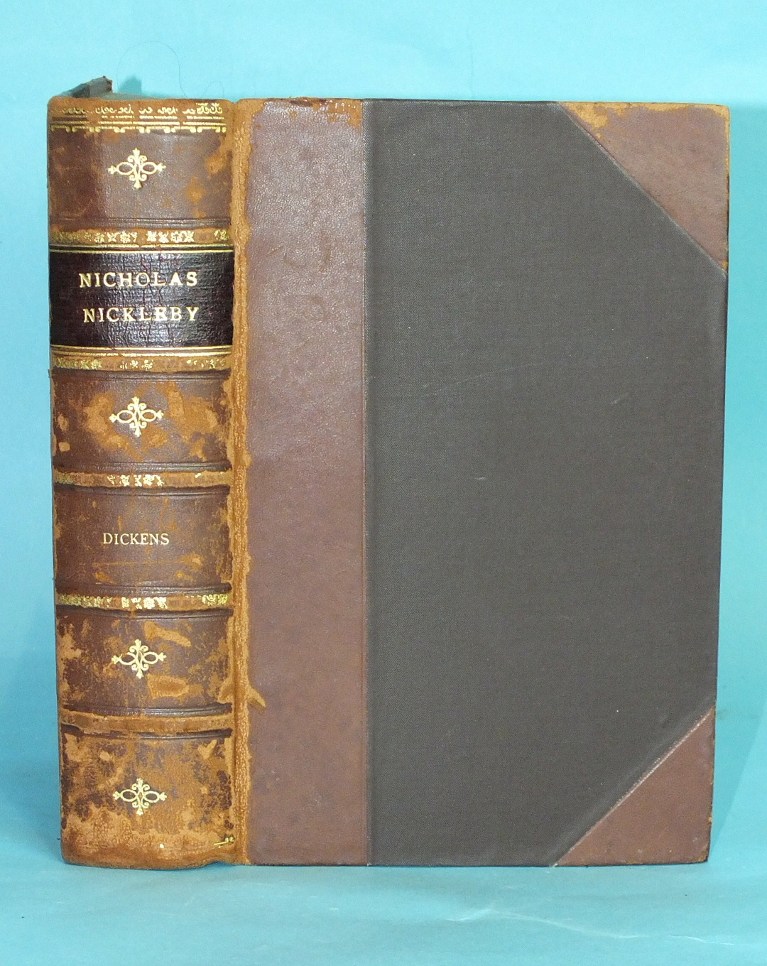 Dickens (Charles), The Life and Adventures of Nicholas Nickleby, first edition, early state, plts by