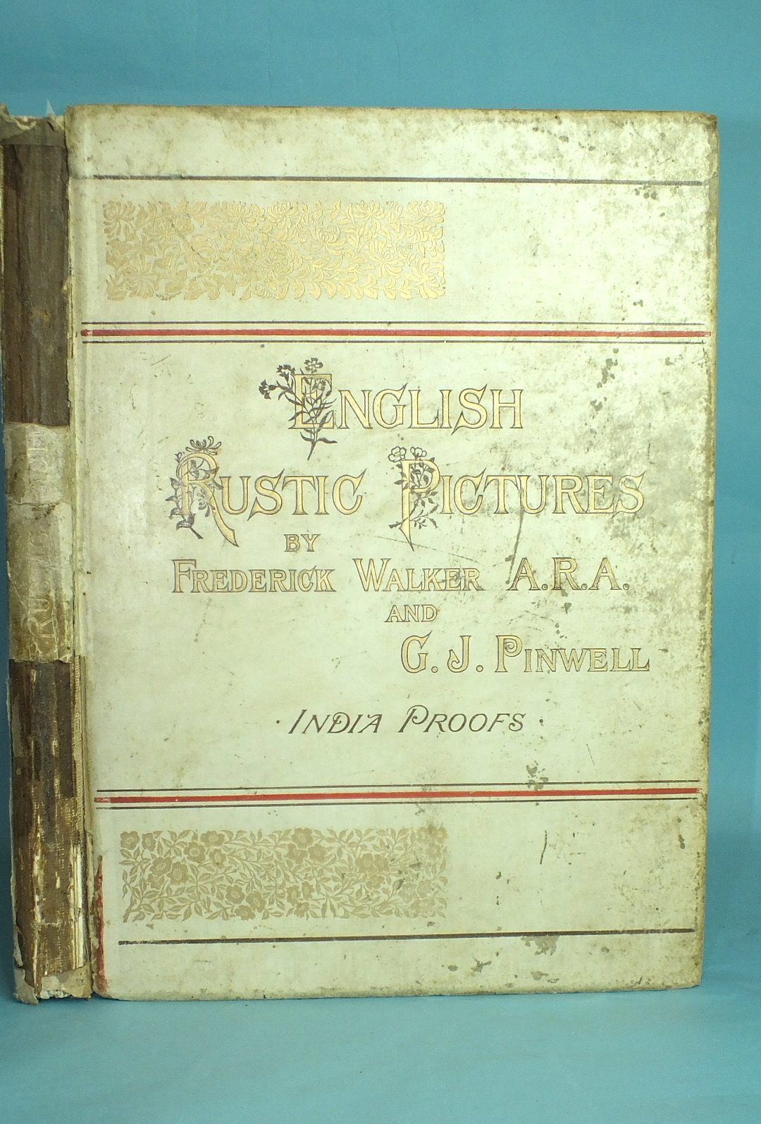 Walker (Frederick) and Pinwell (G J), English Rustic Pictures, no.160 of India Proof ltd edn of 300,