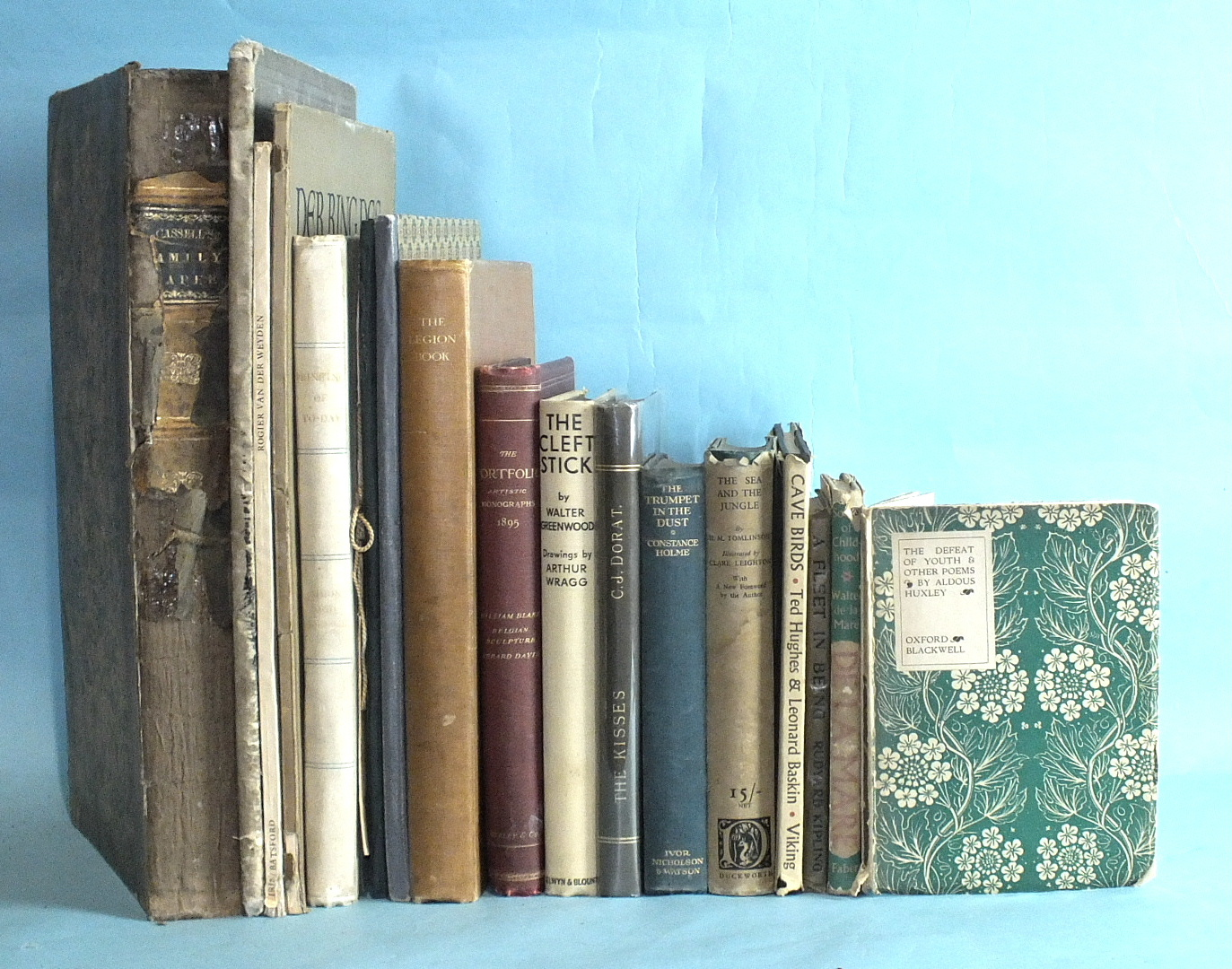 Lot 32 - Simon (Oliver) and Rodenburg (Julius), Printing of To-Day, illus, bds, fo, 1928, other volumes on