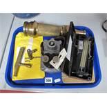 Mining Ephemera. Schaffler Type 350 25 Shot Exploder, Shot Firing Keys, NCB Brass Nozzle, Casella of
