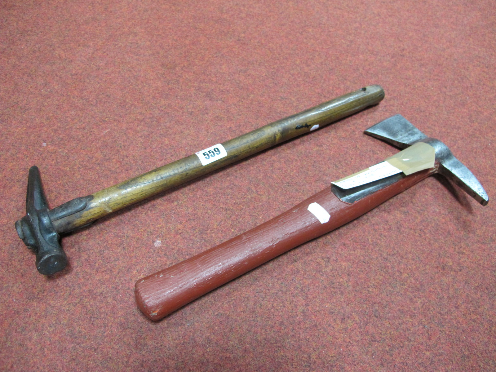 Fire Axe by Whitehouse of Cannock, 39cm long, No. 224 Pick. (2)