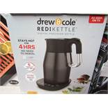 | 1X | DREW & COLE REDI KETTLE 1.7L | REFURBISHED AND BOXED | NO ONLINE RE-SALE | SKU C5060541513587