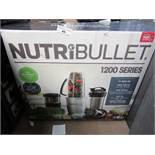 | 1x | NUTRIBULLET 1200 SERIES | REFURBISHED AND BOXED | NO ONLINE RE-SALE | SKU C5060191464758 |