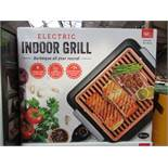 | 1x | ELECTRIC INDOOR GRILL | REFURBISHED AND BOXED | NO ONLINE RE-SALE | SKU C5060541512825 |