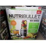 | 1X | NUTRIBULLET 600 SERIES | REFURBISHED AND BOXED | NO ONLINE RE-SALE | SKU C5060191467346 | RRP