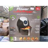 | 1X | POWER AIR FRYER 5.0L | REFURBISHED AND BOXED | NO ONLINE RE-SALE | SKU C5060191466936 |