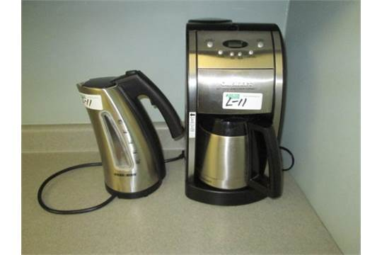 Cuisinart Coffee Maker Just Steams : BLACK&DECKER ELECTRIC KETTLE & CUISINART COFFEE MAKER